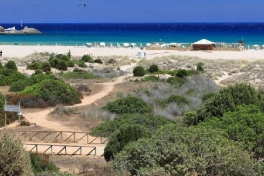 chia bay beaches sardinia