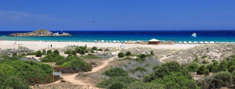 The 10 most beautiful beaches near Pula: South Sardinia