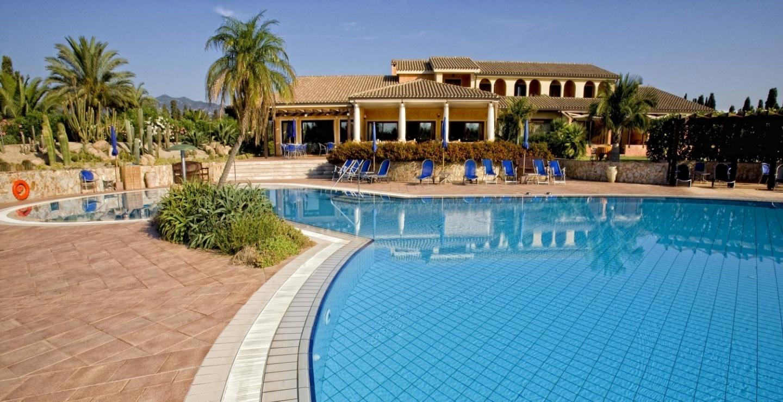 park & swimming pool