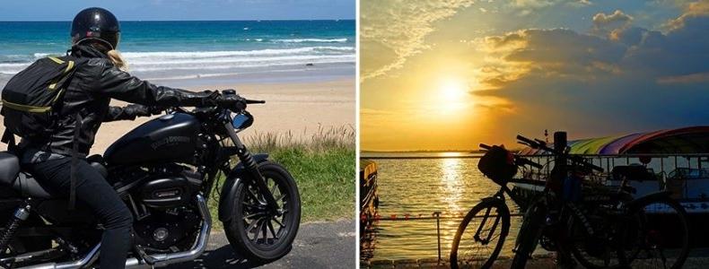 Discover Sardinia by bike and motorbike